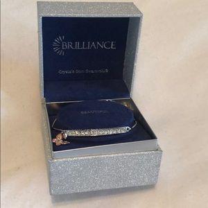 """You Are Beautiful"" Swarovski Crystal Bracelet"